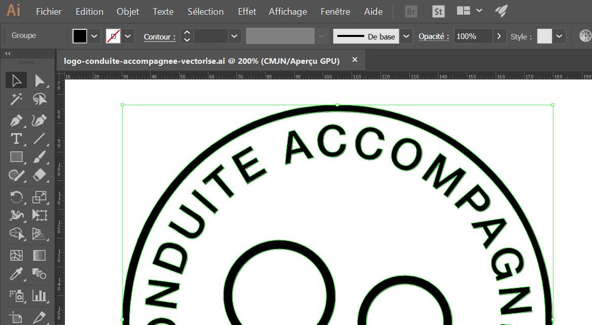 Logo De La Conduite Accompagnée Pdf Vectoriel Et Image